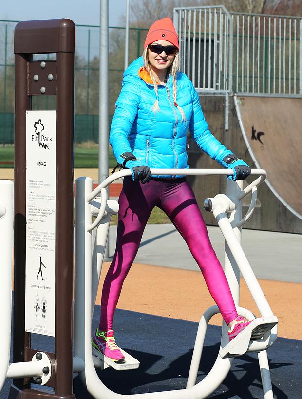 Biegacz do ćwiczeń