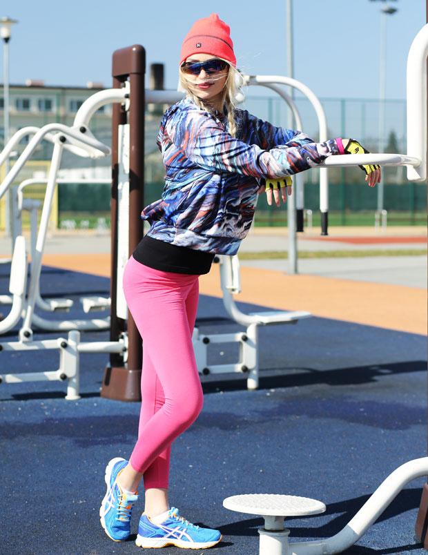 Strój do ćwiczeń na siłowni