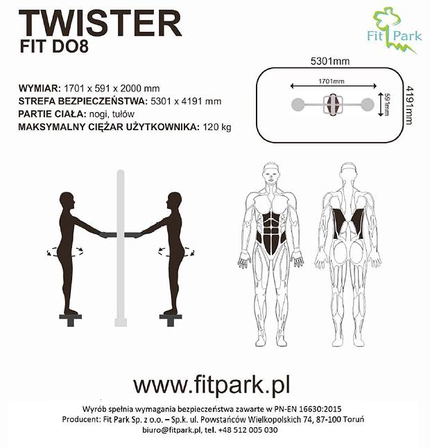 Twister karta techniczna